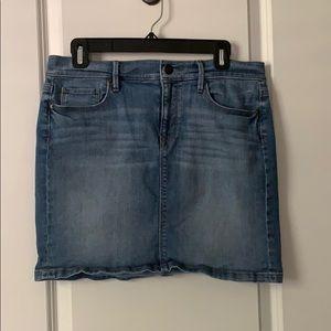 Ann Taylor Loft Denim Skirt
